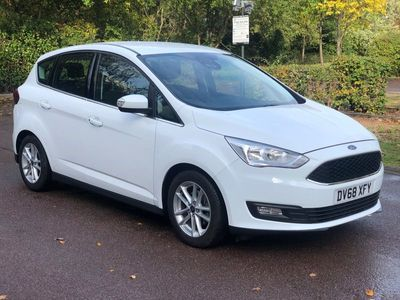used Ford C-MAX 1.0T EcoBoost GPF Zetec MPV 5dr Petrol (s/s) (125 ps)