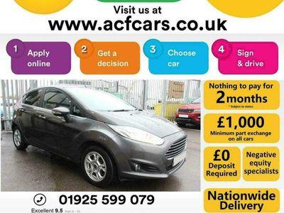 used Ford Fiesta TITANIUM ECONETIC TDCI - CAR FINANCE FR £29 PW Hatchback 2016