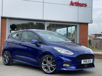 used Ford Fiesta 1.0 EcoBoost 125 ST-Line 3dr