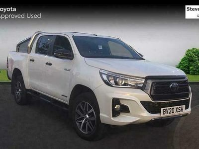 used Toyota HiLux 2.4D-4D Invincible X 4WD 3.5t Double Cab PUp