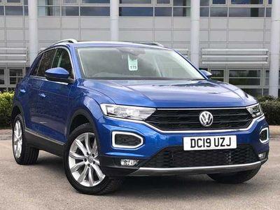 used VW T-Roc 2017 2.0 TDI SEL 150PS DSG