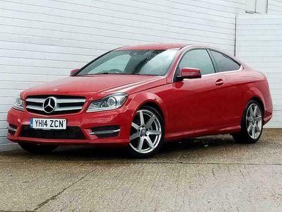 used Mercedes C250 C-CLASS 2.1CDI AMG SPORT EDITION 2d 202 BHP