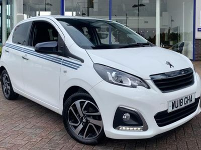 used Peugeot 108 1.2 PureTech Collection Hatchback 5dr Petrol (82 ps)