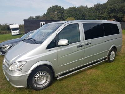 used Mercedes Vito 113CDI BlueEFFICIENCY 8-Seater, 2012, People Carrier, 182200 miles.