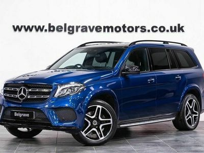 used Mercedes GLS350 Gls Class GLS350D 4MATIC AMG LINE NIGHT PACK PAN ROOF 7 SEATS HUGE SPEC 4X4 3.0 5dr