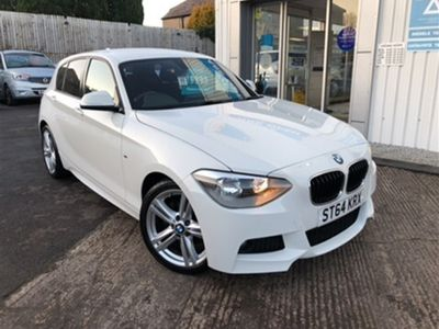 used BMW 116 1 SERIES 1.6 I M SPORT 5d 135 BHP