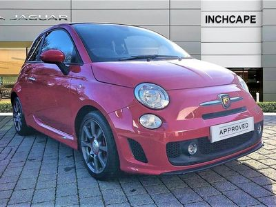 used Abarth 500C CONVERTIBLE 1.4 T-Jet 135 2dr 2013/13