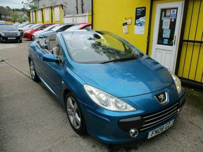 used Peugeot 307 CC 2.0TD Sport