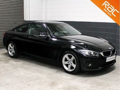used BMW 420 4 Series 4 Series d (190) SE 2dr Auto (Business Media) 2.0 2dr Coupe Automatic D