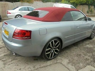 used Audi A4 Cabriolet 2007 AUDI A4 2.0 TDI S LINE 2d 141 BHP Convertible 2007