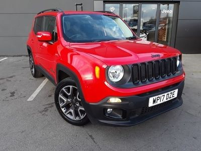 used Jeep Renegade 2017 Doncaster 1.4 MULTIAIR NIGHT EAGLE II 5DR