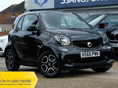 used Smart ForTwo Coupé 0.9 PRIME T 2d 90 BHP 2016