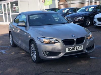 used BMW 218 2 Series 2.0 d SE Auto (s/s) 2dr