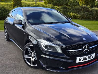 used Mercedes CLA250 CLA ClassEngineered by AMG 4Mat Estate 2016