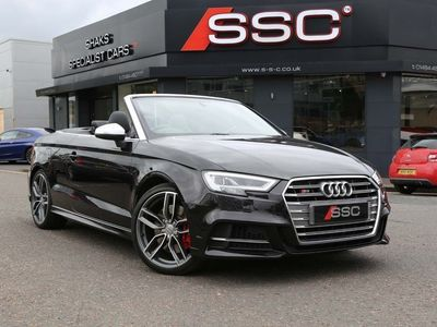 used Audi S3 Cabriolet 2.0 TFSI S Tronic quattro s/s 2dr