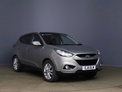 used Hyundai ix35 2.0 CRDi 16v Premium (Media Pack) 2WD 5dr