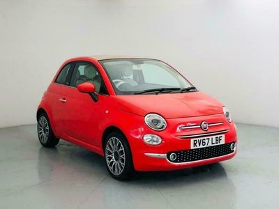 used Fiat 500C 1.2 LOUNGE 3d 69 BHP [SAT NAV. PARKING SENSORS] c convertible