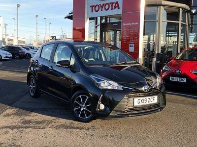 used Toyota Yaris 1.5 VVT-i ( 111bhp ) 2018.5MY Design Hatchback