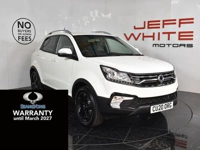 used Ssangyong Korando 2.2 LE 5dr Auto 2020