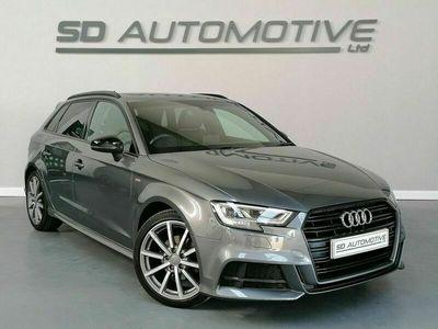 used Audi A3 Sportback 1.6 TDI BLACK EDITION 5d 114 BHP | SAT NAV | DAB | CRUISE | H/SEA