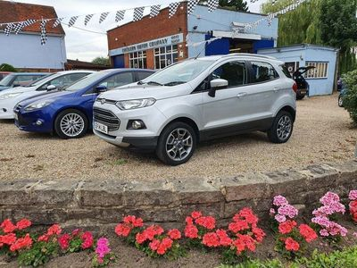 used Ford Ecosport 1.5 Ti-VCT Titanium X (X Pack) 5dr