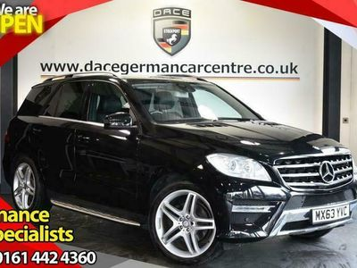 used Mercedes ML250 M-Class 2.1BLUETEC AMG SPORT 5DR AUTO 204 BHP HEATED SEATS + PARKING SENSORS