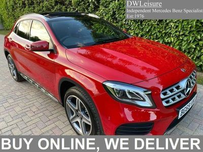 used Mercedes GLA200 Gla Class 1.6AMG Line Edition (Plus) 7G-DCT (s/s) 5dr