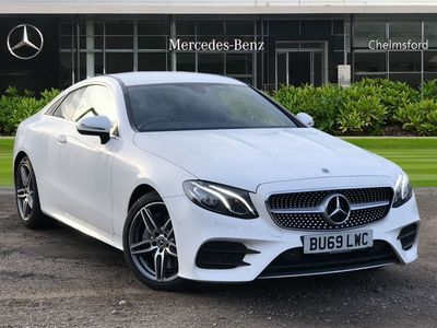 used Mercedes E300 E-ClassAMG Line 2dr 9G-Tronic