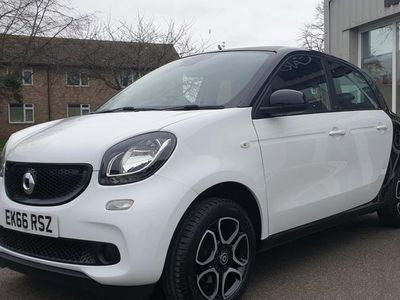 used Smart ForFour 1.0 Prime Night Sky Twinamic (s/s) 5dr