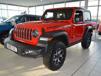 used Jeep Wrangler 2Dr 2.2 200hp Mtjt II Rubicon