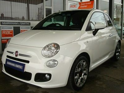 used Fiat 500S One Lady Owner + Full Glyn Hopkins Main Dealer Service History 5 St 3-Door