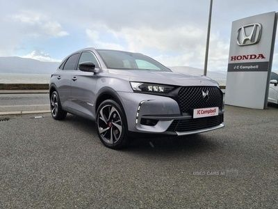 used DS Automobiles DS7 Crossback 1.6 PureTech GPF Performance Line Crossback EAT8 (s/s) 5dr