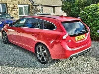 used Volvo V60 1.6 DRIVE R-DESIGN S/S 5d 113 BHP ***ONLY 1 PREVIOUS OWNER FROM NEW**