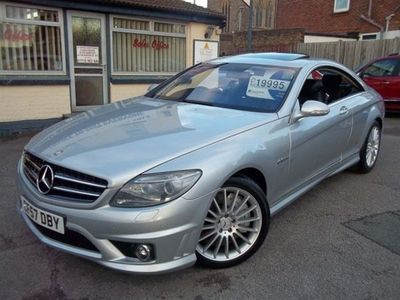 used Mercedes CL63 AMG C Class L 6.2AMG 7G-Tronic 2dr 10 SERVICE STAMPS 3