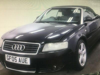 used Audi A4 Cabriolet 1.8T Sport 2dr Multitronic