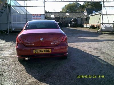 used Peugeot 307 CC 2.0 S 2dr Auto