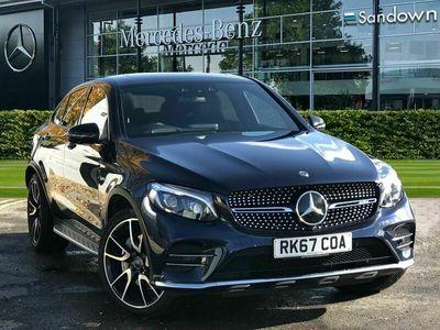 used Mercedes GLC43 AMG GLC Class GLC Coupe4Matic Premium Plus 5dr 9G-Tronic suv 2017