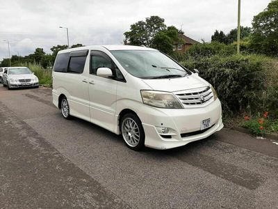 used Toyota Alphard 8 Seater Automatic NO ULEZ Delivery Poss 2.4 5dr