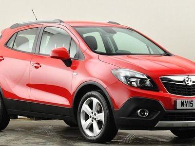 used Vauxhall Mokka 1.6i Tech Line 5dr Red Manual Petrol