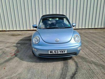 used VW Beetle 2.0 Cabriolet 2dr