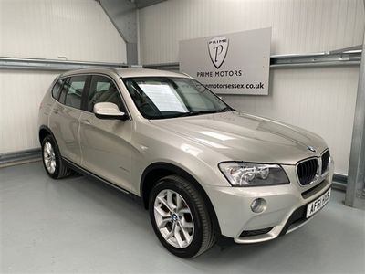 used BMW X3 2.0 XDRIVE20D SE 5d 181 BHP