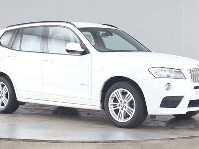 used BMW X3 3.0 30d M Sport xDrive 5dr