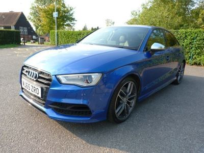 used Audi S3 2.0 TFSI S Tronic quattro 4dr