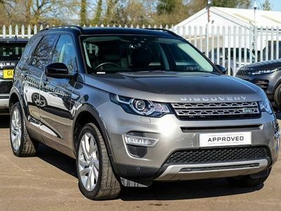 used Land Rover Discovery Sport 2.0 SD4 (240hp) HSE Luxury