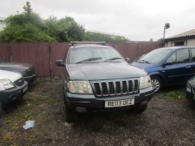 used Jeep Grand Cherokee 2.7 CRD Limited 4x4 5dr