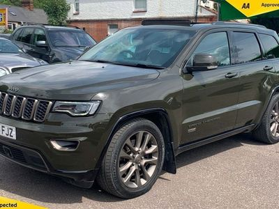 used Jeep Grand Cherokee 3.0 V6 CRD 75th Anniversary Auto 4WD (s/s) 5dr