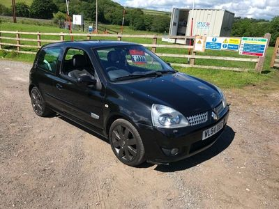 used Renault Clio 2.0 16V sport 182 3dr