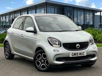 used Smart ForFour Electric Drive FORFOUR 60Kw Eq Prime Premium 5Dr Auto 17Kwh hatchback