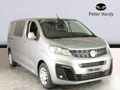 used Vauxhall Vivaro 3100 2.0d 120PS Sportive H1 D/Cab