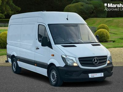 used Mercedes Sprinter 3.5t BlueEFFICIENCY Van